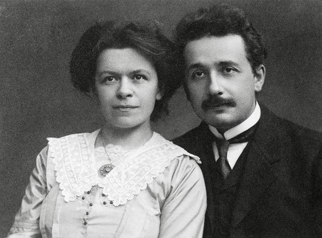 Mileva Marić and Albert Einstein