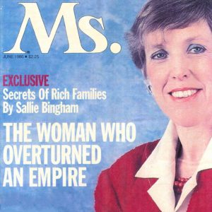 Ms. Magazine cover - June 1986