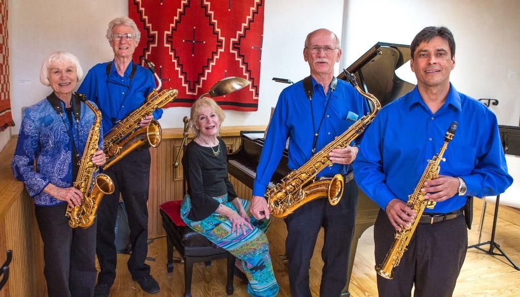 The High Desert Sax Quartet with Peggy Abbott