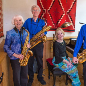 The High Desert Sax Quartet with Peggy Abbott