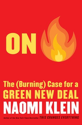 Cover of Naomi Klein's book On Fire