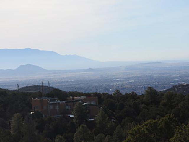 Rio Grande Valley Haze - Santa Fe, New Mexico