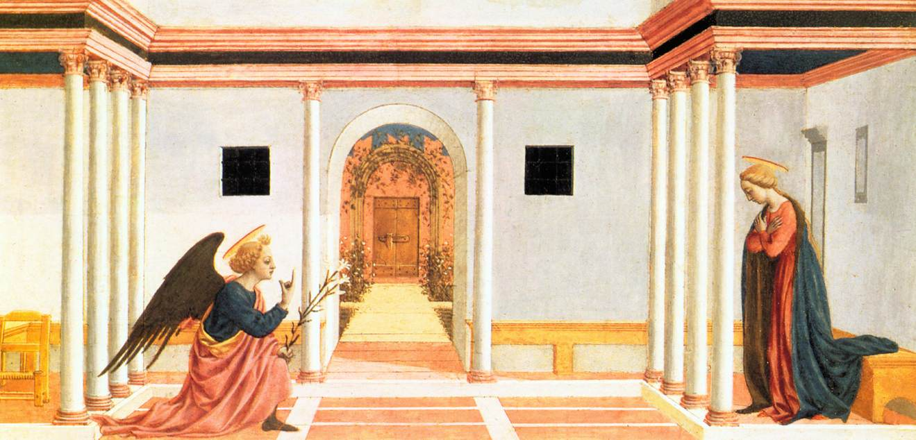 The Annunciation - Domenico Veneziano