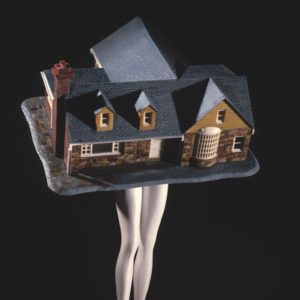 Laurie Simmons, Walking House, 1989; Collection of Dr. Dana Beth Ardi